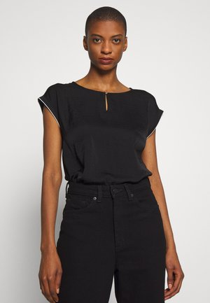 KURZARM - Blouse - black