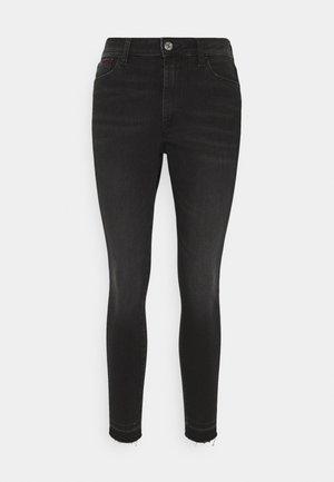 SYLVIA ANKLE - Jeans Skinny Fit - black denim