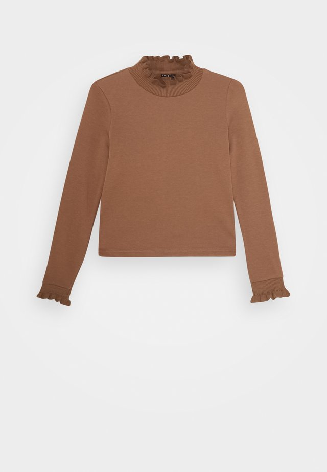 NLFNANCY  SHORT - Sweatshirt - thrush
