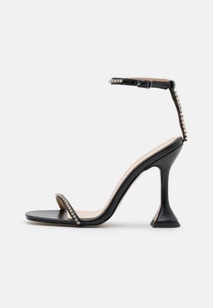 ARTEE - High heeled sandals - black