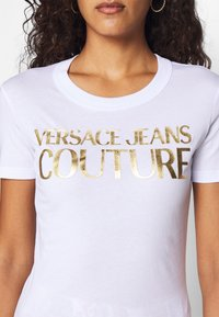 Versace Jeans Couture - Print T-shirt - white - 4