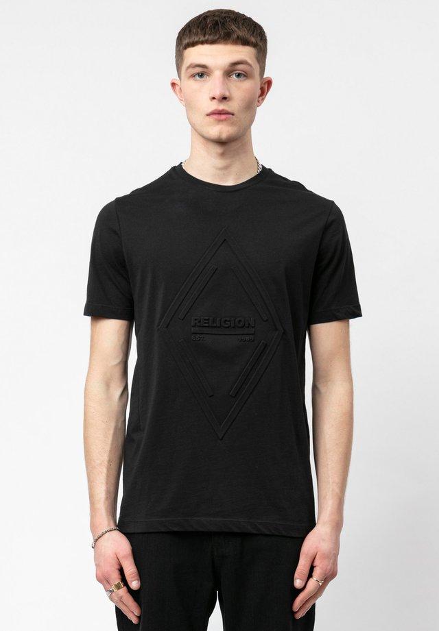 INJECTION TEE - T-shirt basic - black