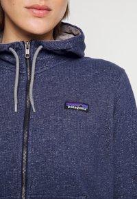 Patagonia - FULL ZIP HOODY - Zip-up sweatshirt - navy blue - 4