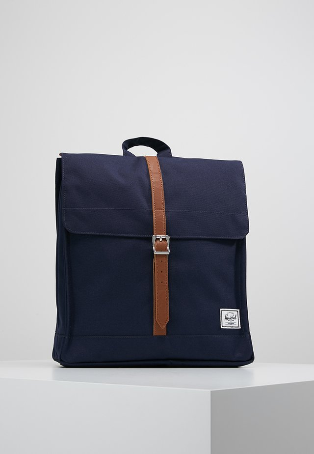 CITY MID VOLUME - Tagesrucksack - peacoat/tan