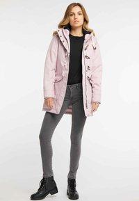 DreiMaster - Winter coat - light pink - 1
