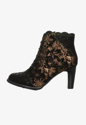 ALCBANEO - Cowboy/biker ankle boot - black