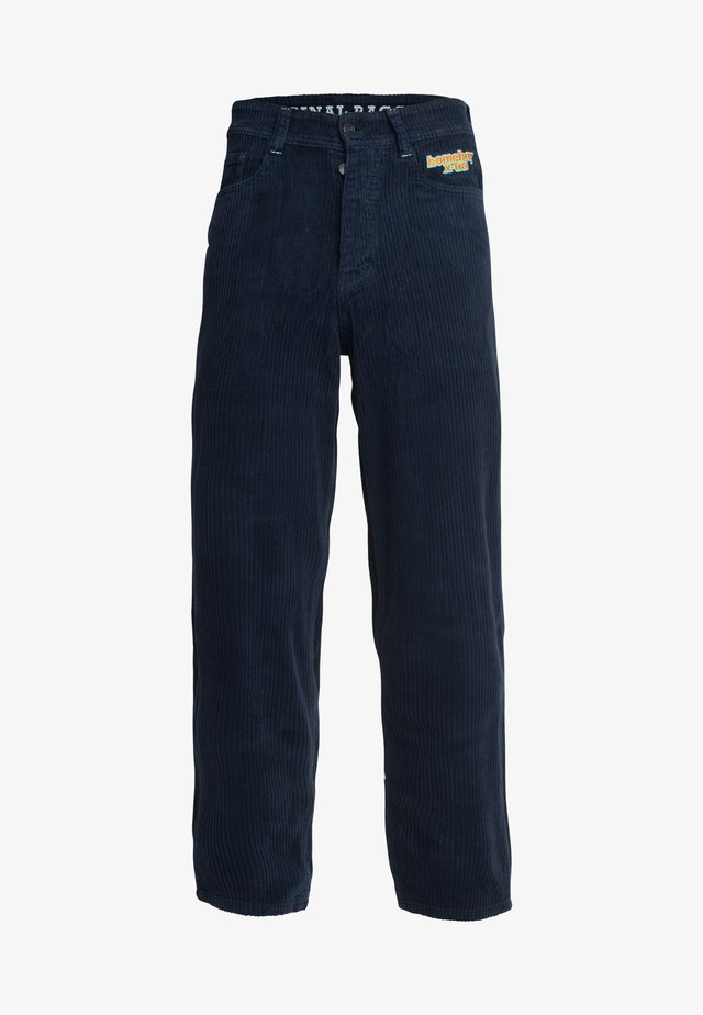 X-TRA BAGGY - Trousers - midnight blue