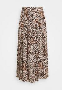 Forever New - SOPHIE DOUBLE SPLIT SKIRT - A-line skirt - caramel leopard - 4