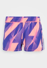 adidas Performance - PACER - Pantalón corto de deporte - signal pink/white - 3