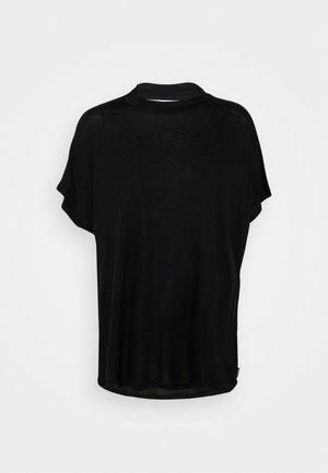 FLOR - Print T-shirt - black