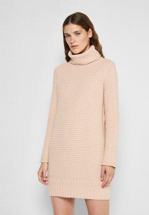 Jumper dress - sandy beige