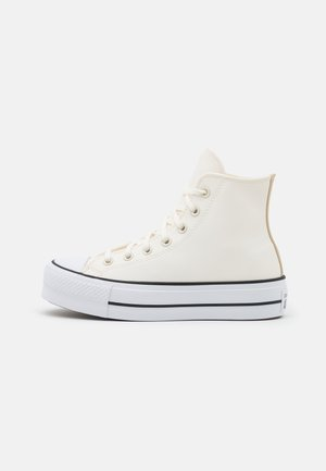 CHUCK TAYLOR ALL STAR PLATFORM - High-top trainers - egret/white/black