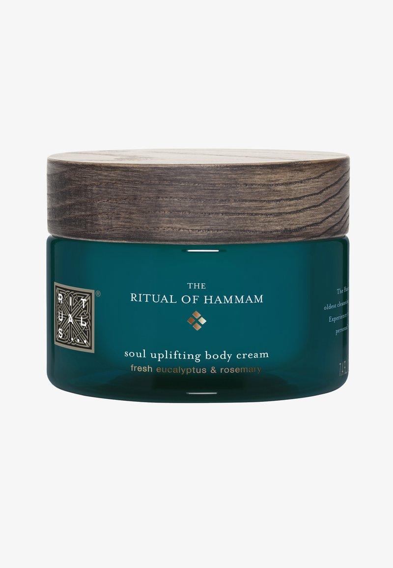 Rituals - THE RITUAL OF HAMMAM BODY CREAM - Moisturiser - -