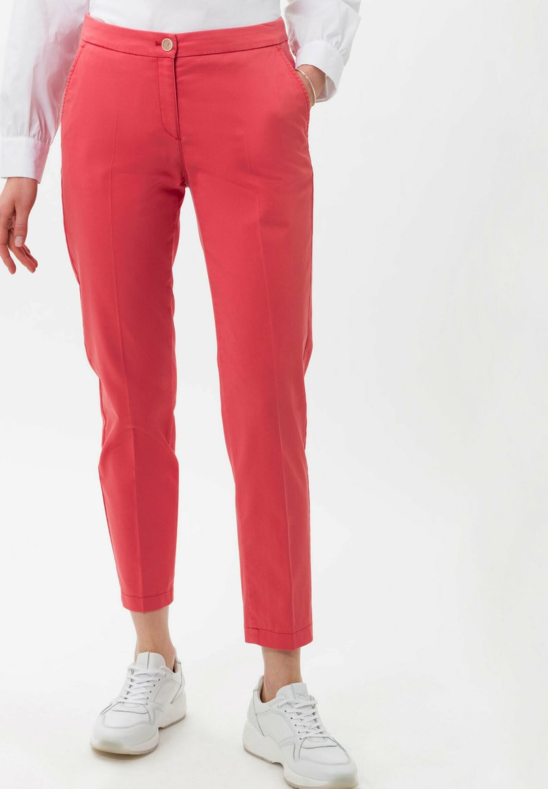 BRAX - STYLE MARON - Trousers - coral