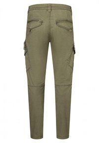 Timezone - Cargo trousers - muddy green - 5