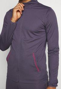 Nike Performance - DRY ACADEMY SUIT SET - Trainingspak - dark raisin/siren red/siren red - 7