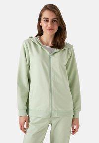 LC Waikiki - Zip-up sweatshirt - green - 8