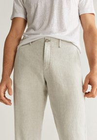 Mango - OYSTER - Pantalon classique - ecru - 3