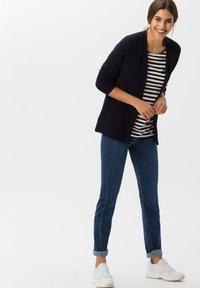 BRAX - STYLE BONNIE - Long sleeved top - navy - 1