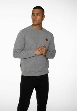 Sweatshirt - dark grey melee
