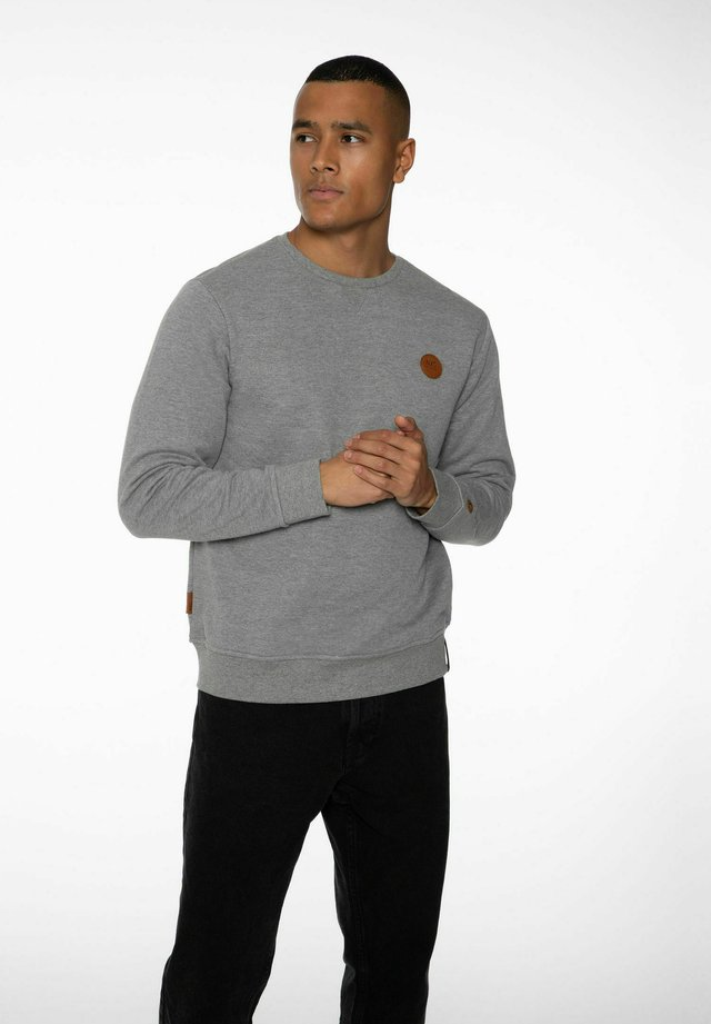 Sweatshirt - dark grey melee