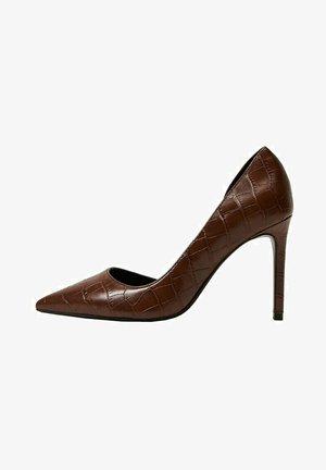 Classic heels - marron