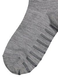 Polarn O. Pyret - WITH ANTI-SLIP - Socks - greymelange - 1