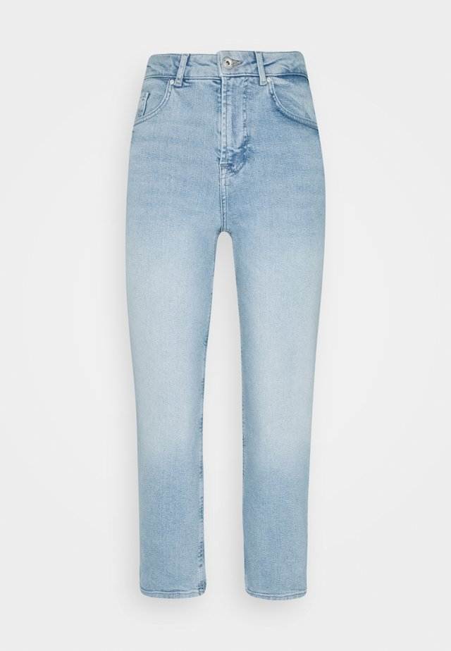 PCALUA STRAIGHT CULOTTE - Jeans Skinny Fit - light blue denim