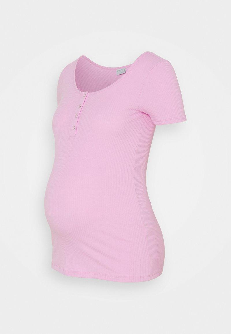 Pieces Maternity - PCMKITTE  - Basic T-shirt - purple