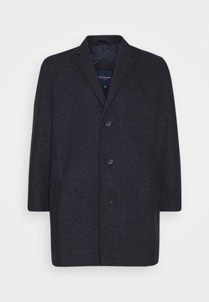 COAT BUTTONS - Wollmantel/klassischer Mantel - navy blue
