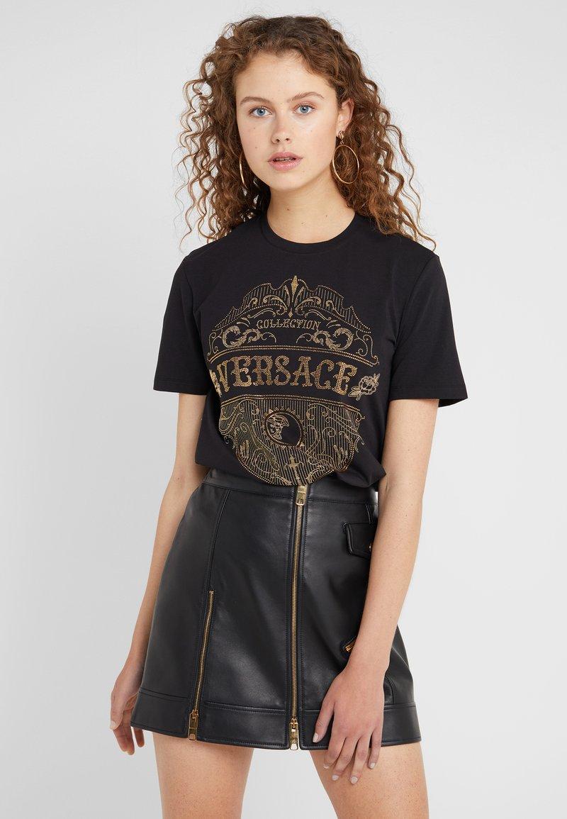 Versace Collection - Print T-shirt - nero