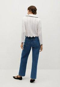 Mango - JULIETTE - Flared Jeans - donkerblauw - 2