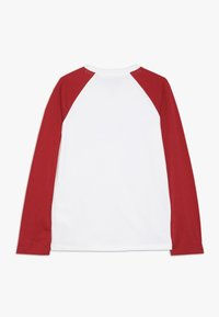 Quiksilver - GET BUZZY - Long sleeved top - white/garnet - 1