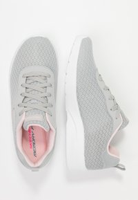 Skechers Sport - DYNAMIGHT 2.0 - Trainers - light gray/pink trim - 3