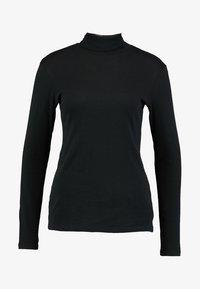 Benetton - TURTLE NECK - Langærmede T-shirts - black - 3