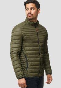 INDICODE JEANS - REGULAR FIT - Light jacket - army - 3