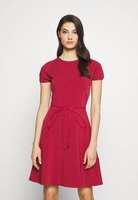 Bally - BELTED DRESS - Jumper dress - red - 0