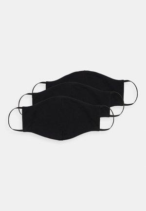 3 PACK - Masque en tissu - black