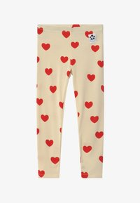 Mini Rodini - HEARTS - Leggings - Trousers - offwhite - 2