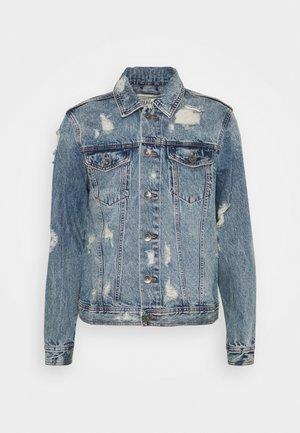 BARNEY JACKET - Denim jacket - mid blue