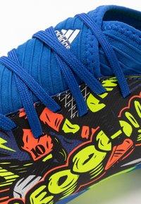 adidas Performance - NEMEZIZ MESSI 19.3 FG - Moulded stud football boots - team royal blue/silver metallic/solar yellow - 5
