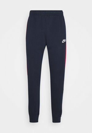 Pantalones deportivos - obsidian/university red/white
