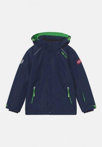 HOLMENKOLLEN SNOW PRO UNISEX - Lyžařská bunda - navy/green