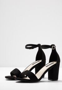 Nly by Nelly - BLOCK MID - Riemensandalette - black - 4