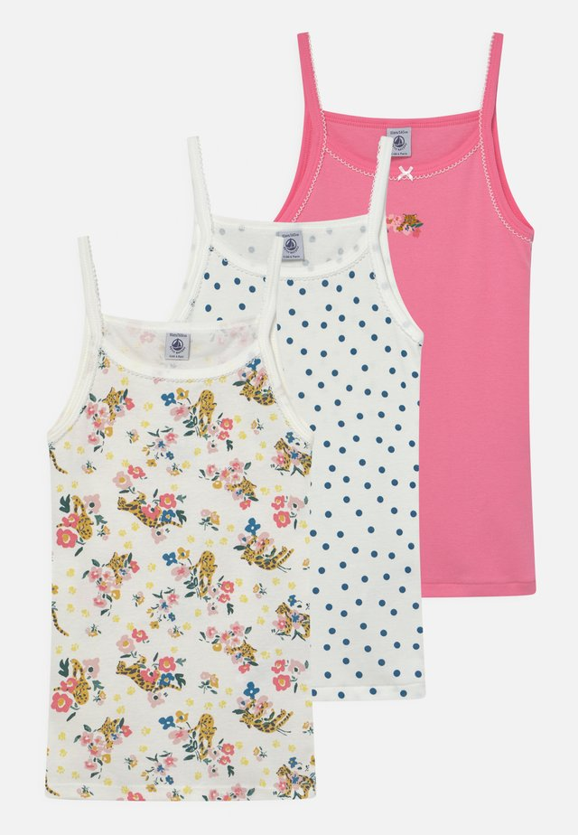 3 PACK - Unterhemd/-shirt - light pink