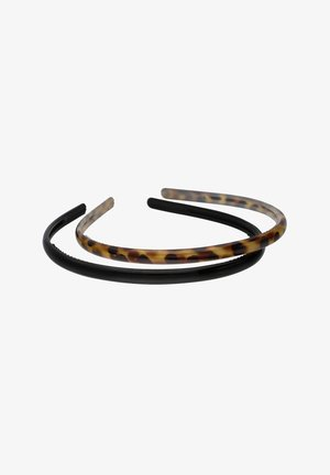 2 SET - Hair styling accessory - black / brown