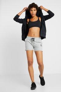 Hummel - HMLNICA  - Sports shorts - grey melange - 1