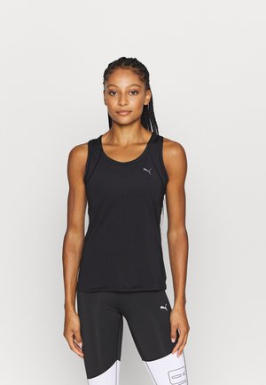 TRAIN FAVORITE RACERBACK - T-shirt sportiva - black