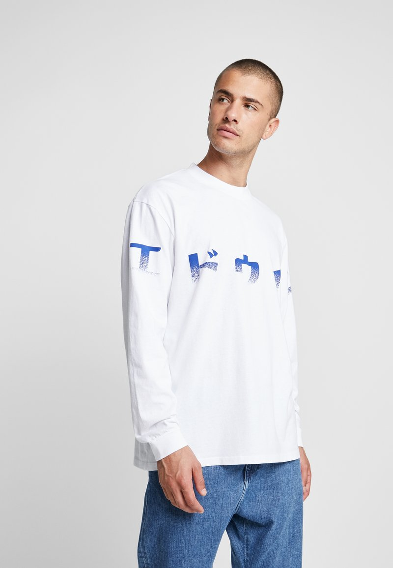 Edwin - IMPRINT - Long sleeved top - white