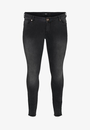 SANNA  - Slim fit jeans - grey